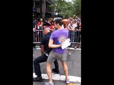 Hot Cop Totally Gets Down With A Marcher At The New York Pride Parade