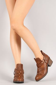 Women's Strappy Ankle Booties (FREE SHIPPING)