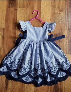 Girls Boutique Dresses, Little Dresses, Little Girl Dresses, Girls Dresses, Toddler Fashion, Kids Fashion, Fashion Outfits, Cute Girl Outfits, Kids Outfits