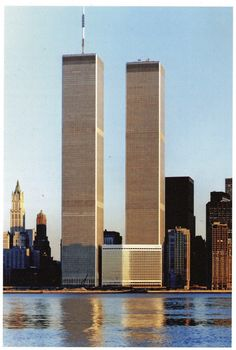 The World Trade Center in 1982. From majestic To a senseless tragedy!!