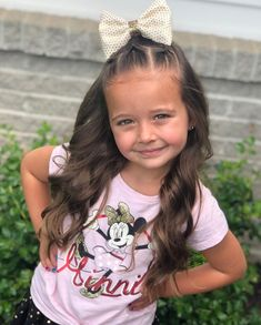 We did another quick style today. We have a rope twist and some elastic sections with bubble ponies that are tied off to the side. We hope… Toddler Hair Dos, Easy Toddler Hairstyles, Easy Little Girl Hairstyles, Cute Girls Hairstyles, Princess Hairstyles, Easy Hairstyles For Long Hair, Mixed Kids Hairstyles, Little Girl Pictures, Hair Pictures