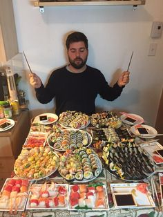 318 sushi [Homemade] #food #foodporn #recipe #cooking #recipes #foodie #healthy #cook #health #yummy #delicious