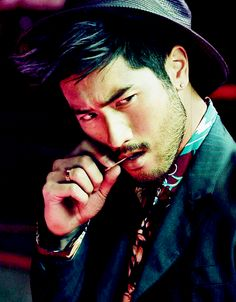 Godfrey Gao for the Nanyou Spring/Summer Issue 2014