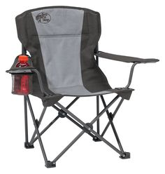 Bass Pro Shops Deluxe Camp Chair For Kids   Violet Quartz