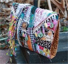 Have a Art Journal junk book cover backpack in mind...