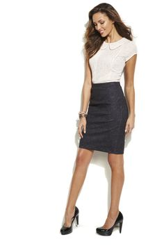 What to wear to work? A pencil skirt is always right. #CareerShop #Kohls