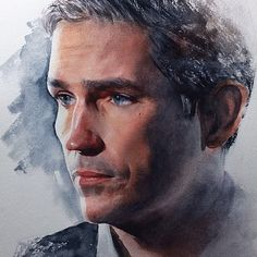 Someone drew this, it's amazing!#jimcaviezel #fanart #POI #johnreese #fantastic