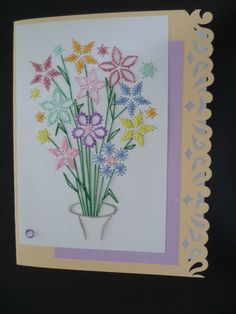 Bouquet de fleurs Faite par Pascale Gagné