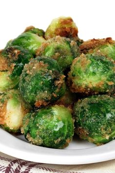 Parmesan Breaded Brussels Sprouts Recipe | Nosh-up