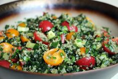 Healthy End-of-Summer Mediterranean-Style Kale and Quinoa Tabouli Salad | Bay Area Bites | KQED Food