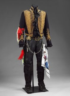 Battlefield to Boudoir: The Costumes of Adam Ant