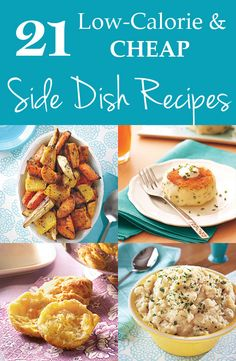 21 healthy and affordable side dish recipes