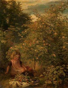 Love among the Roses ~ John  MacWhirter ~ (1839-1911)