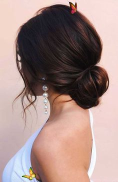 100 Best Wedding Hairstyles Updo For Every Length, #Hairstyles #Length #Updo #Wedding #wedding&br Best Wedding Hairstyles, Bride Hairstyles, Messy Hairstyles, Indian Hairstyles, Bridesmaid Hairstyles, Lehenga Hairstyles, Bridal Hairstyle Indian Wedding, Wedding Hairstyles Half Up Half Down, Black Women Hairstyles