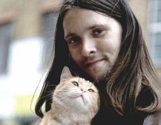 James Bowen and his cat Bob