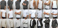 clothes references for artists, wrinkles study