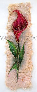 Valda Fitzpatrick Red Calla Lilly absolutearts.com