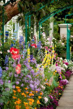 New York Botanical Gardens - Monet Garden
