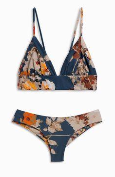 MIDNIGHT B L U E S || Dana the Delinquent Bikini Top + Clairee the Criminal Bikini Bottoms