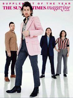 Arctic Monkeys -   The Sunday Times Magazine, May 20 2018