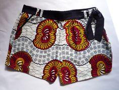 Shorts et micro-shorts, Short dame en wax est une création orginale de Zouland sur DaWanda