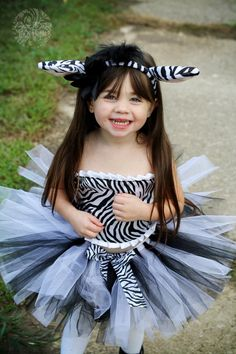 zebra costume completely inappropriate for a child but cute for adult