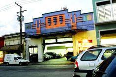 Cinema Recreio (hoje estacionamento) na Lapa, Sao Paulo/SP.
