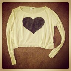 Heart Sweater $19.00