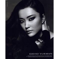 David Yurman Ad Campaign 2008-2009 Shot #23 ❤ liked on Polyvore featuring ad campaign y du juan