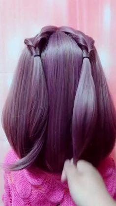 Front Hair Styles, Medium Hair Styles, Curly Hair Styles, Bun Hairstyles For Long Hair, Braids For Long Hair, Braided Hairstyles, Hairstyles Videos, Black Braids, Beautiful Hairstyles