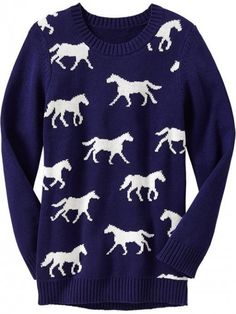 i dont like sweaters, but I would wear one like this