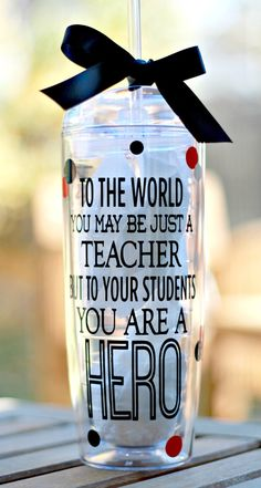 Hey, I found this really awesome Etsy listing at https://www.etsy.com/listing/210165709/personalized-teacher-tumbler-teacher
