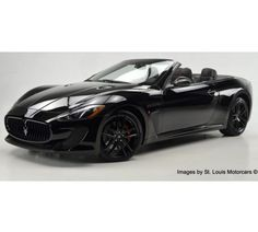 Mighty Fine!!! Maserati Gran Turismo Convertible in metallic black! #DreamCar! Check it out... http://www.ebay.com/itm/Maserati-Gran-Turismo-MC-New-2013-Maserati-Gran-Turismo-MC-Convertible-Nero-Nero-267-Miles-/191130346395?forcerrptr=true&hash=item2c8041a39b&item=191130346395&pt=US_Cars_Trucks?roken2=ta.p3hwzkq71.bsports-cars-we-love #spon