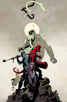 BPRD: Hell on Earth The Reign of the Black Flame Variant #115 - Mike Mignola