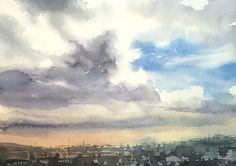 Today2   赤坂孝史の水彩画