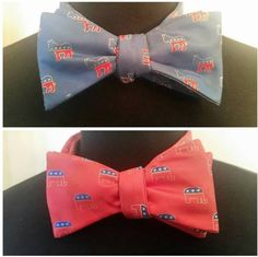 The #P5Neckwear Political Bowties are in. We want to help you support your party. smile emoticon   #Bowtieitup #PVneckwear #P5neckwear #P5design #Bowtie #Ascot #Silk #newlook #Store