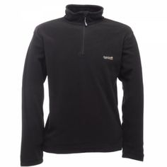 Shop for Regatta Mens Thompson Fleece Jacket, Black, Medium. Starting from Choose from the 3 best options & compare live & historic sporting good prices. Mens Fleece, Black Media, Zip, Free Delivery, Jackets, Stuff To Buy, Shopping, Medium, Fashion