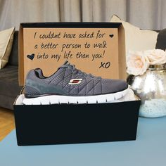 Men's Skechers Skech Flex Relaxed Fit 51442 Running Shoes Unbox a message in A ShoeBox this Valentine's Day. More from my Valentine's Gifts for the Special Man in Your Life