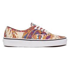 8f8d5a611709ba Vans Authentic Liberty (Flower Paisley Cream) - Skate Shoes - www.consortium