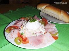 Vlašský šalát - recept | Varecha.sk Rodin, Ice Cream, Meat, Chicken, Desserts, Food, No Churn Ice Cream, Tailgate Desserts, Deserts