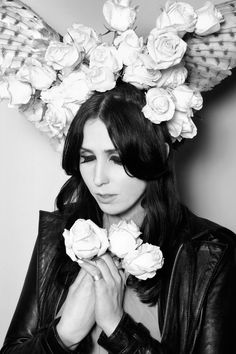 An Interview with Chelsea Wolfe  A friend from some time ago, but saw her merch in Italy near our venue. She sounds incredible!