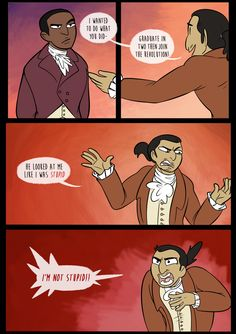 Aaron burr, sir comic - Google Search