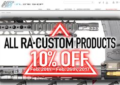 RA-Tech Product Sale At Airsoft Taiwan \