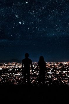 Find images and videos about love, boy and couple on We Heart It - the app to get lost in what you love. Night Sky Stars, Sky Full Of Stars, Night Skies, Cute Couple Art, Love Couple, Ft Tumblr, Wedding Invitation Trends, Love Wallpapers Romantic, Relationship Goals Pictures