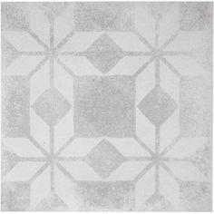 Vloertegel Terratinta Betonepoque 20x20x1,05 cm White Grey Sarah 08 1ST