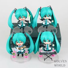 34.43$  Buy now - http://ali3tl.shopchina.info/1/go.php?t=32731913570 - Brinquedos Baby Toy Choro-Q Hatsune Miku Kaito Meiko 4 a pack Garage Kits Animation PVC Action Figure Collectible Model Toy Doll 34.43$ #buyonlinewebsite