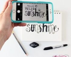 How to Create Hand-Lettered Silhouette Cut Files