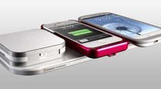 Duracell Powermat: wired or wireless charging system on the go. Works with Galaxy S3 and iPhone 5!