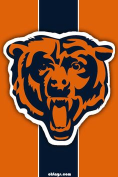 Grab one of our Football iPhone Wallpapers for your iPhone or iPod Touch. Chicago Bears Wallpaper, Bears Football, Cute Backgrounds, Cornhole Boards, Page 3, Chicago Cubs Logo, Iphone Wallpapers, Ipod Touch, Vintage Posters