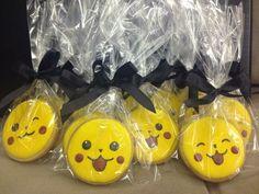Pikachu!!! Biscoito decorado!!!
